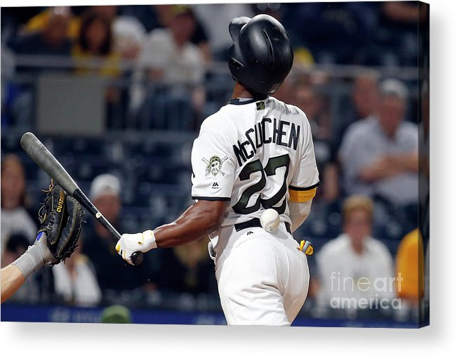 Three Quarter Length Acrylic Print featuring the photograph Andrew Mccutchen by Justin K. Aller