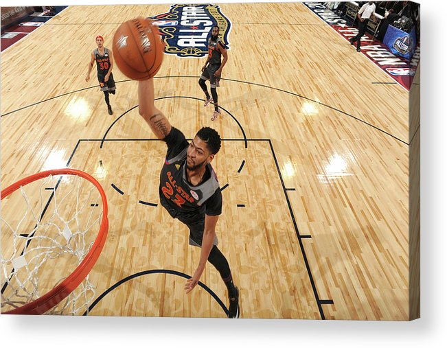 Event Acrylic Print featuring the photograph Anthony Davis by Andrew D. Bernstein