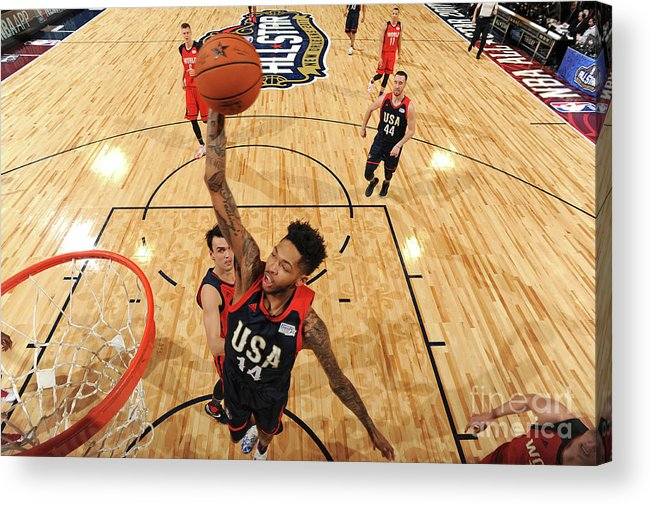 Event Acrylic Print featuring the photograph Brandon Ingram by Andrew D. Bernstein