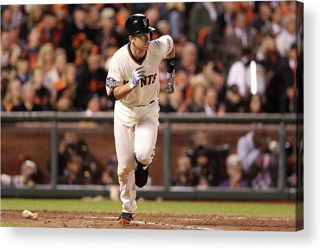 San Francisco Acrylic Print featuring the photograph Buster Posey by Christian Petersen