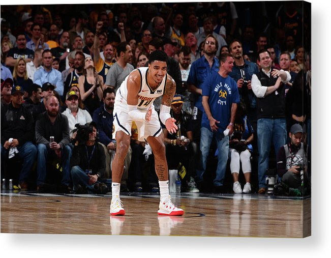 Playoffs Acrylic Print featuring the photograph Gary Harris by Bart Young
