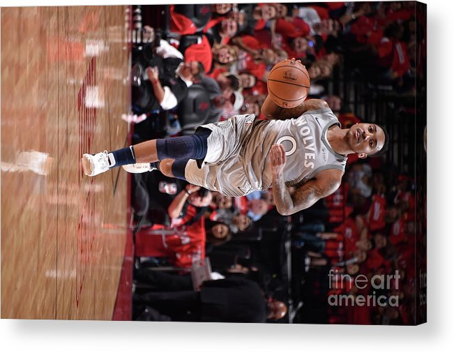 Playoffs Acrylic Print featuring the photograph Jeff Teague by Bill Baptist