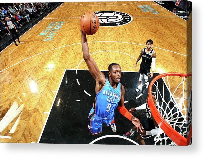 Nba Pro Basketball Acrylic Print featuring the photograph Jerami Grant by Nathaniel S. Butler