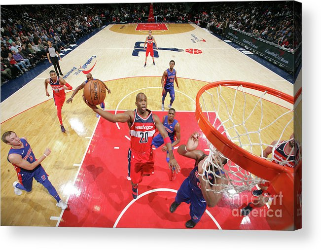 Jodie Meeks Acrylic Print featuring the photograph Jodie Meeks by Ned Dishman