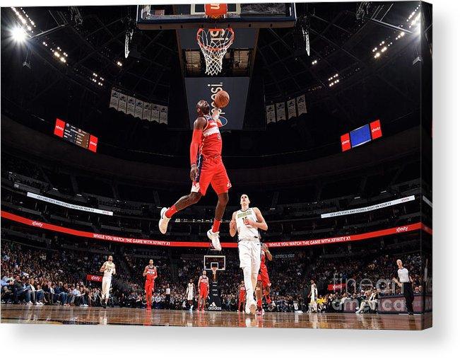 Nba Pro Basketball Acrylic Print featuring the photograph John Wall by Garrett Ellwood