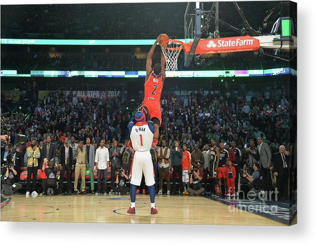 Smoothie King Center Acrylic Print featuring the photograph John Wall by Jesse D. Garrabrant
