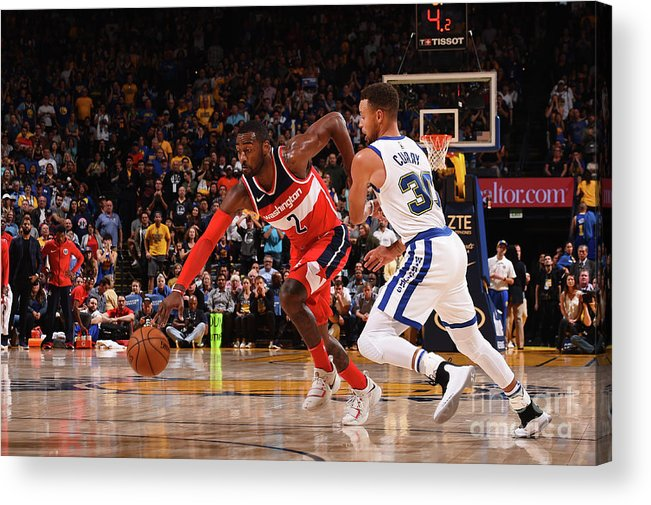 Nba Pro Basketball Acrylic Print featuring the photograph John Wall by Noah Graham