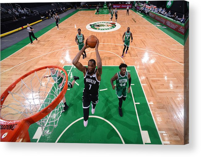 Nba Pro Basketball Acrylic Print featuring the photograph Kevin Durant by Brian Babineau