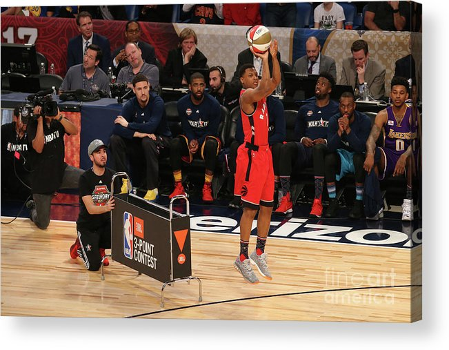 Event Acrylic Print featuring the photograph Kyle Lowry by Gary Dineen