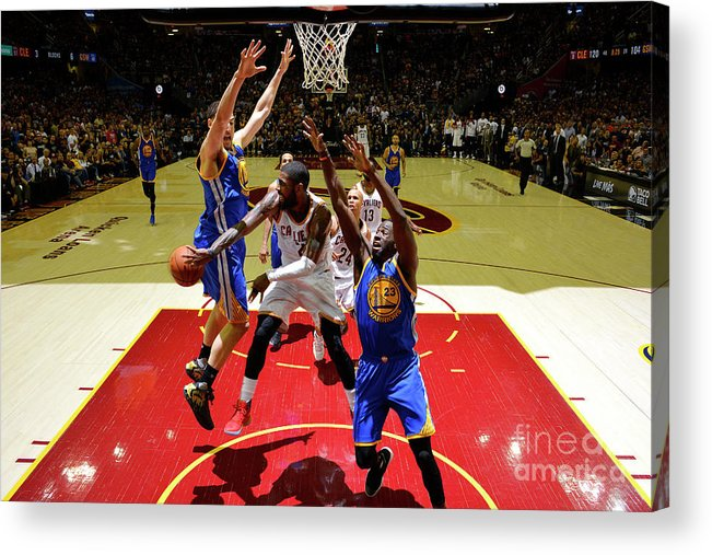 Playoffs Acrylic Print featuring the photograph Kyrie Irving by Jesse D. Garrabrant