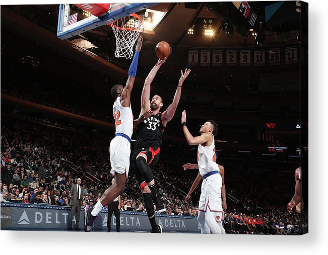 Nba Pro Basketball Acrylic Print featuring the photograph Marc Gasol by Nathaniel S. Butler