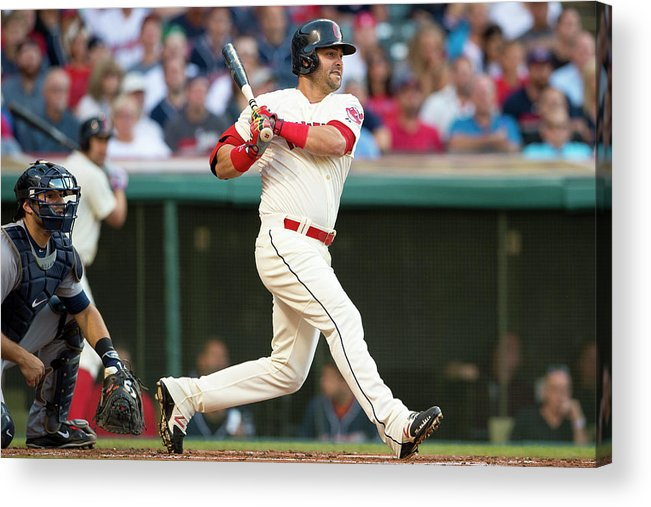 Second Inning Acrylic Print featuring the photograph Nick Swisher by Jason Miller