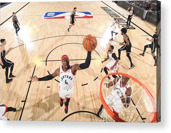 Playoffs Acrylic Print featuring the photograph Rondae Hollis-jefferson by Jesse D. Garrabrant