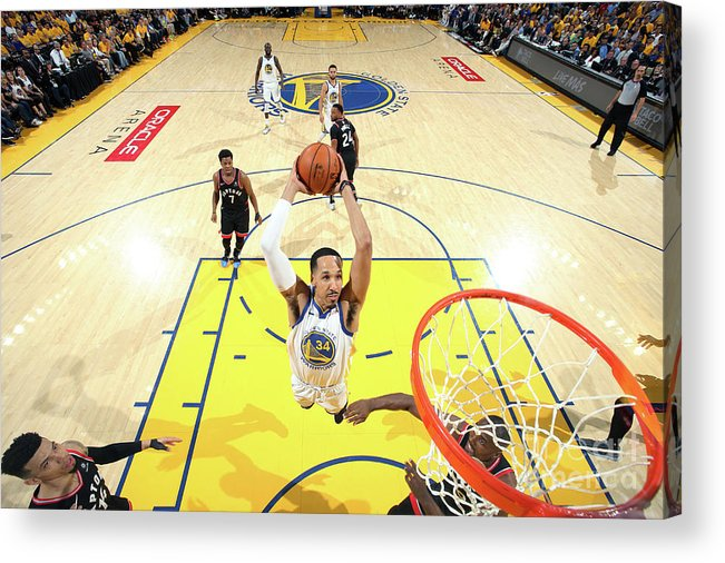Playoffs Acrylic Print featuring the photograph Shaun Livingston by Nathaniel S. Butler