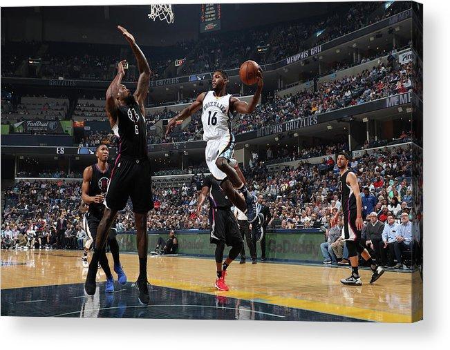 Nba Pro Basketball Acrylic Print featuring the photograph Toney Douglas by Joe Murphy