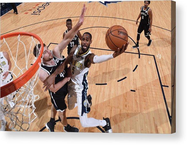 Nba Pro Basketball Acrylic Print featuring the photograph Will Barton by Garrett Ellwood