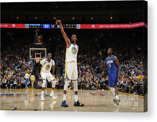 Nba Pro Basketball Acrylic Print featuring the photograph Kevin Durant by Noah Graham
