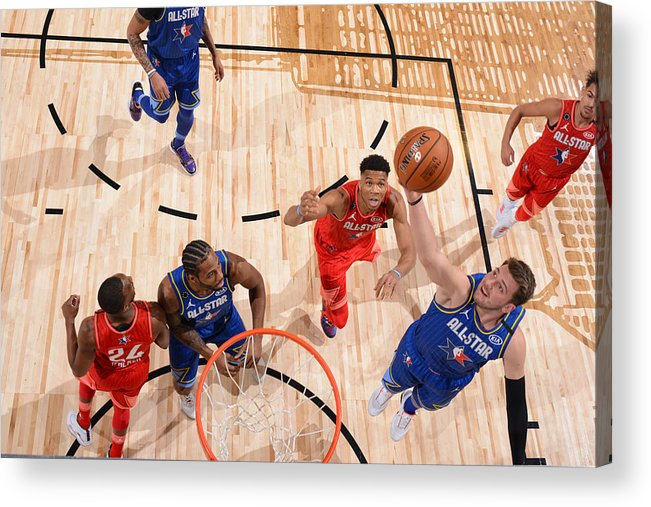 Nba Pro Basketball Acrylic Print featuring the photograph 69th NBA All-Star Game by Jesse D. Garrabrant