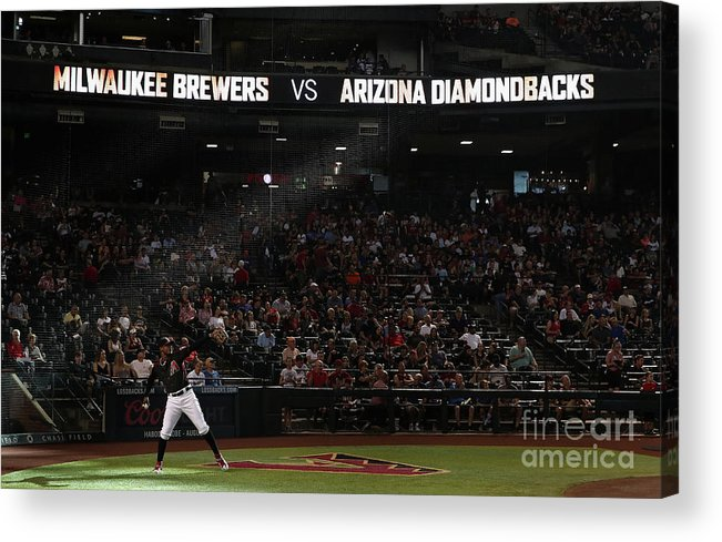 People Acrylic Print featuring the photograph Adam Jones by Christian Petersen