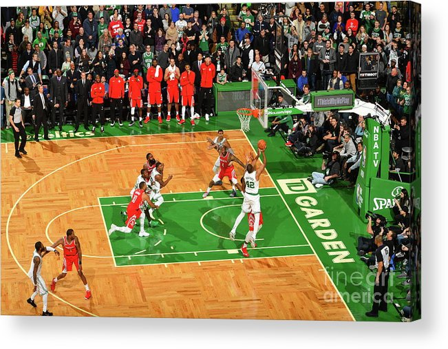 Nba Pro Basketball Acrylic Print featuring the photograph Al Horford by Jesse D. Garrabrant