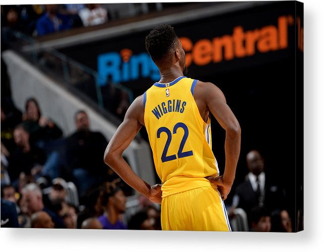 San Francisco Acrylic Print featuring the photograph Andrew Wiggins by Noah Graham