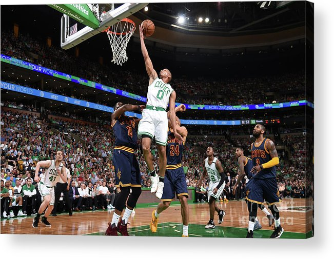 Playoffs Acrylic Print featuring the photograph Avery Bradley by Brian Babineau