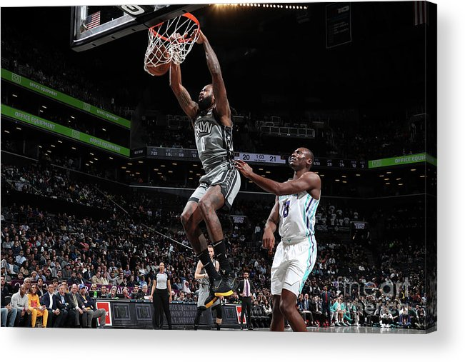 Nba Pro Basketball Acrylic Print featuring the photograph Deandre Jordan by Nathaniel S. Butler