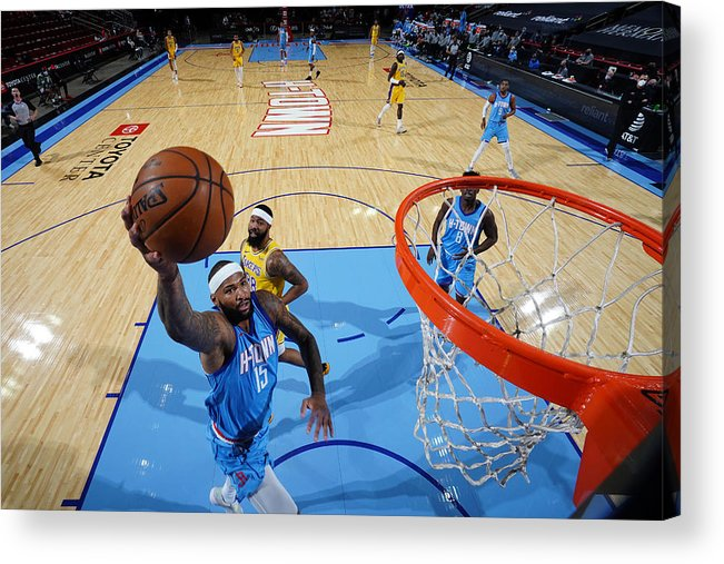 Nba Pro Basketball Acrylic Print featuring the photograph Demarcus Cousins by Cato Cataldo