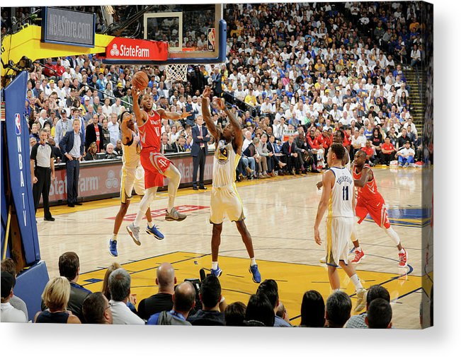 Nba Pro Basketball Acrylic Print featuring the photograph Eric Gordon by Andrew D. Bernstein