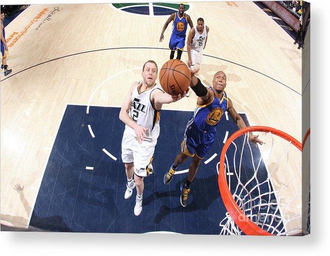 Playoffs Acrylic Print featuring the photograph Joe Ingles by Melissa Majchrzak