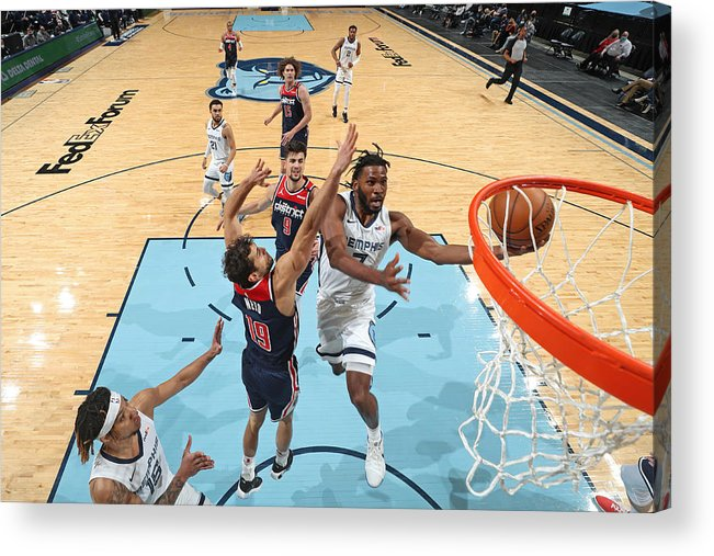 Justise Winslow Acrylic Print featuring the photograph Justise Winslow by Joe Murphy