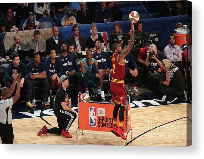 Event Acrylic Print featuring the photograph Kyrie Irving by Joe Murphy