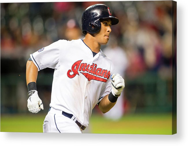 People Acrylic Print featuring the photograph Michael Brantley by Jason Miller