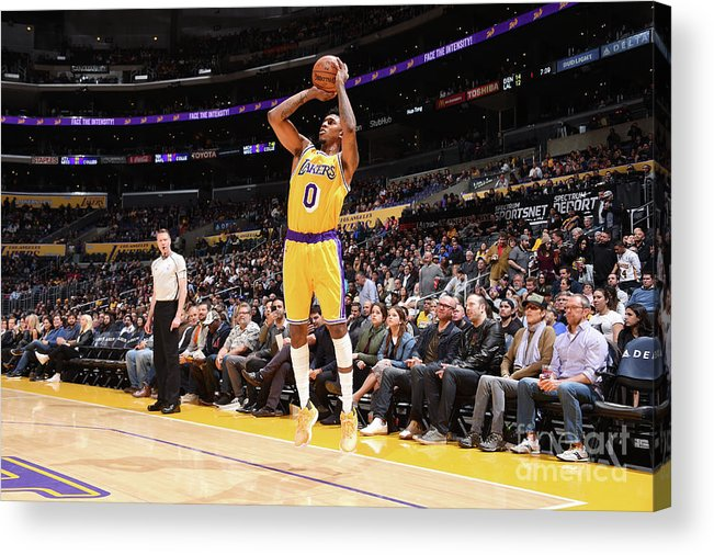 Nba Pro Basketball Acrylic Print featuring the photograph Nick Young by Andrew D. Bernstein