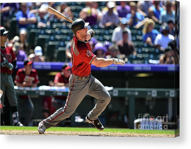 People Acrylic Print featuring the photograph Paul Goldschmidt by Dustin Bradford