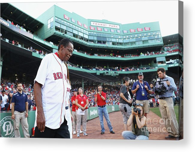 Three Quarter Length Acrylic Print featuring the photograph Rod Carew by Maddie Meyer