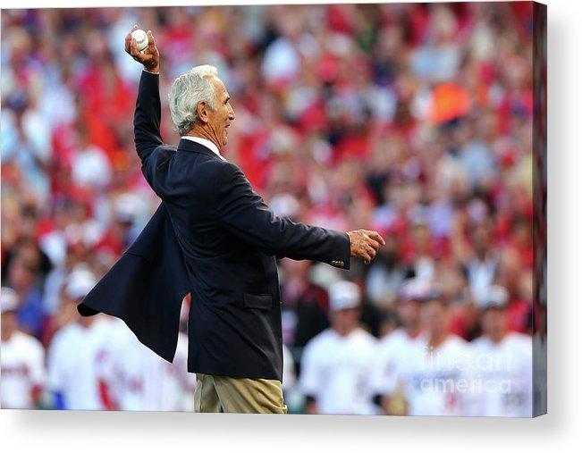 Great American Ball Park Acrylic Print featuring the photograph Sandy Koufax by Elsa