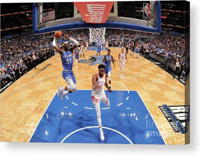 Nba Pro Basketball Acrylic Print featuring the photograph Terrence Ross by Fernando Medina