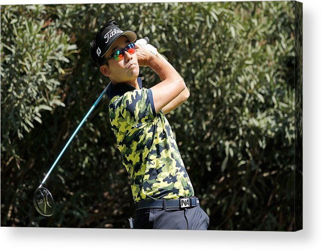 Mexico City Acrylic Print featuring the photograph World Golf Championships-Mexico Championship - Round One by Buda Mendes