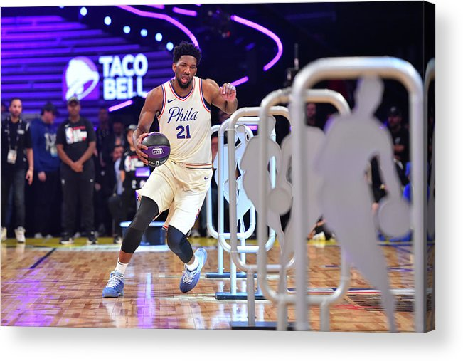 Event Acrylic Print featuring the photograph Joel Embiid by Jesse D. Garrabrant