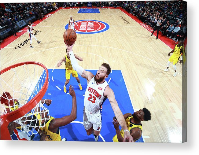 Nba Pro Basketball Acrylic Print featuring the photograph Blake Griffin by Brian Sevald