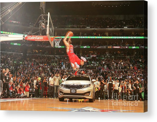 Kia Acrylic Print featuring the photograph Blake Griffin by Nathaniel S. Butler