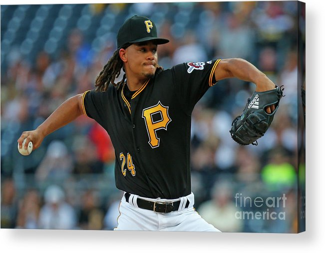 Three Quarter Length Acrylic Print featuring the photograph Chris Archer by Justin K. Aller