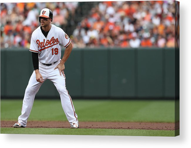 People Acrylic Print featuring the photograph Chris Davis by Patrick Smith