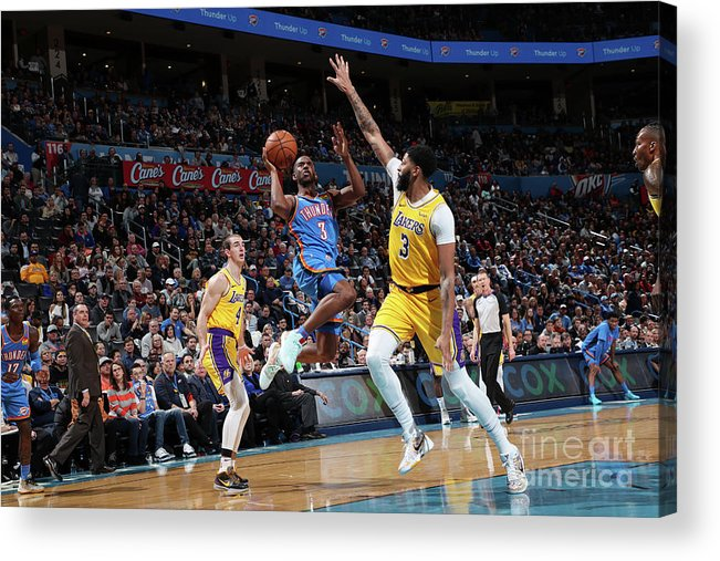 Nba Pro Basketball Acrylic Print featuring the photograph Chris Paul by Joe Murphy