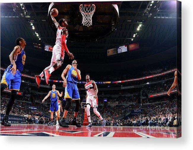 Nba Pro Basketball Acrylic Print featuring the photograph John Wall by Jesse D. Garrabrant