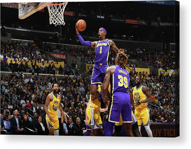 Nba Pro Basketball Acrylic Print featuring the photograph Kentavious Caldwell-pope by Andrew D. Bernstein