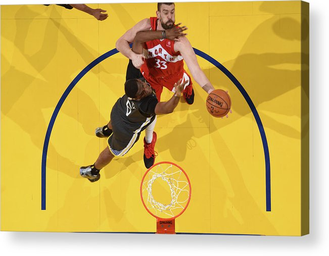 Playoffs Acrylic Print featuring the photograph Marc Gasol by Andrew D. Bernstein