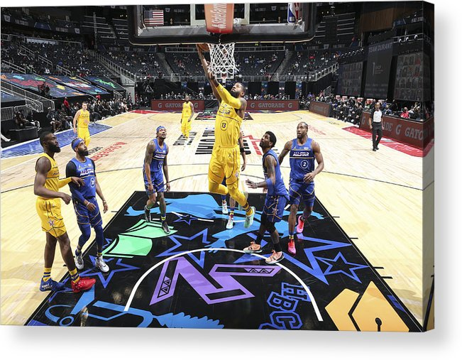 Atlanta Acrylic Print featuring the photograph Paul George by Nathaniel S. Butler