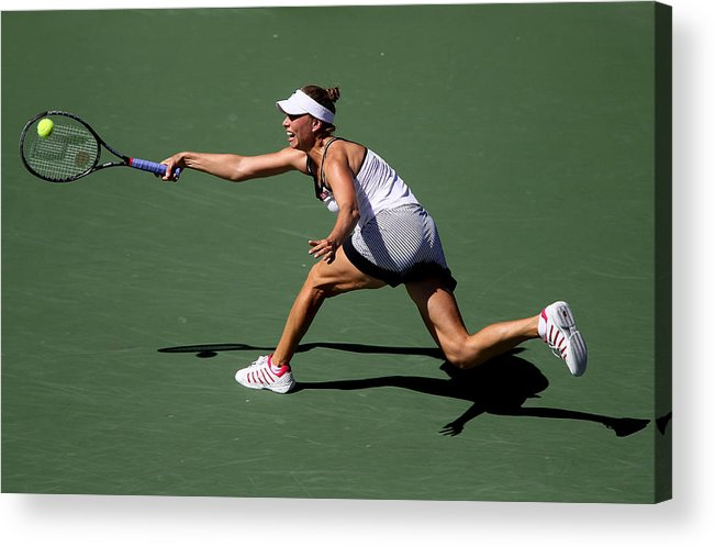 Tennis Acrylic Print featuring the photograph U.S. Open - Day 10 by Jim McIsaac